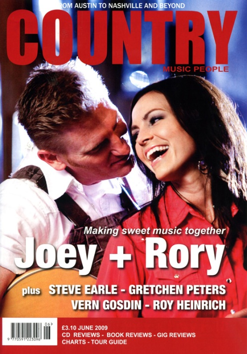 Country Music People Cover - June 2009
